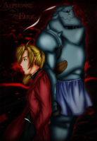 [Alphonse Elric]  Bound by destiny by xRyuusei
