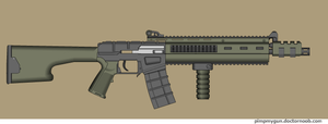 Type-99 AR by Robbe25