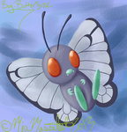 Day 1 - Butterfree by Star-Mia