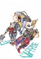 Collab Request: Vayne/Lux by dannyyiu