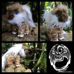 Squarr - OOAK Handmade companion critter by SonsationalCreations