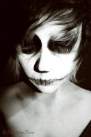 Skull face :: 01 by Deathly-Sora
