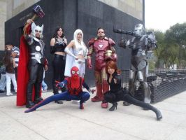 Marvel Heroes by RinaMx