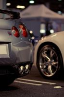 Nissan GT-R Back 370Z Front by miki3d