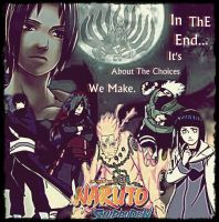 NarutO ShippuDen Poster-TIME UNTIL THE END by Kravon1