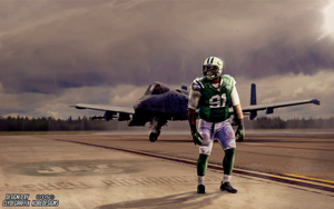 Sheldon Richardson | Wallpaper by ClydeGraffix