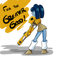 Greater Good by JoPereira