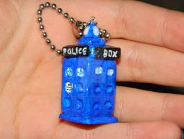 Dr. Who keychain by annnemarie95