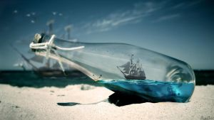Ship in bottle by balint4