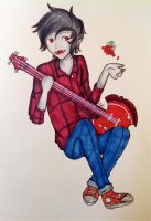 Its Marshall Lee Timmeeee by OrenjiMican