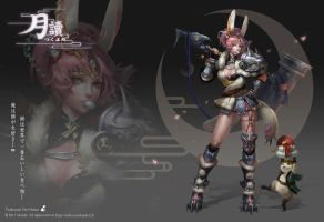 Rabbit Warrior by Remontant