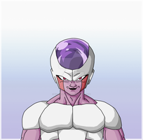 Frieza True Forth Form by GambledPaintbrush