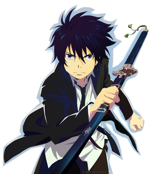 Rin Okumura by kuricurry