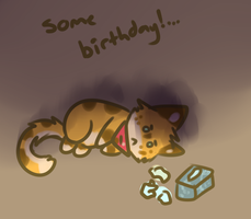 some birthday... by Freckled-Kat