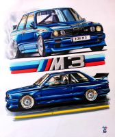 BMW e30 M3 by two6
