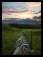 Down the wall by Batteryhq
