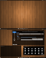 Another shot of my KDE Black Plasma Theme by CraazyT