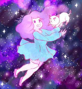 space bee and puppycat! by parch