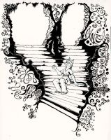 Cavern Staircase by fax