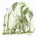 #154_Meganium by Manguinha