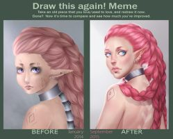Draw This Again - Pinkeeh by Nychse
