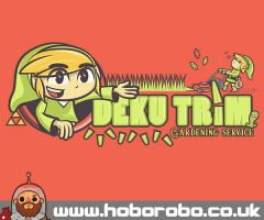 Deku Trim T-shirt Design by alsnow