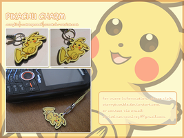 Pokemon: Pikachu Charm by StarryTumble