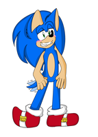 Smexy Sonic. (collab) by 1horsey10