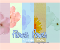 TEXTURE PACK 2 - Flower Power by chazzief