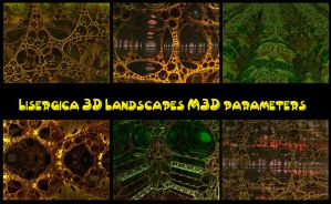 Lysergica 3d Landscape parameters by PhotoComix2