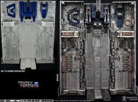Optimus Prime MP-10 Repaint - Combat Deck 04 by xeltecon