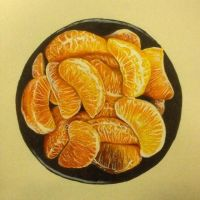 Orange drawing by WB940618