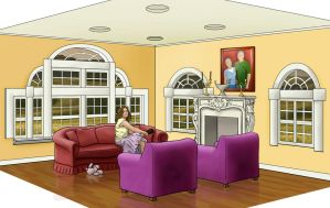 Interior Rendering by omelets4sqwerls