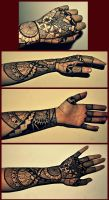Multicultural Glove + Half Sleeve by chainofthorns
