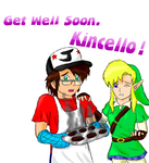 Get Well Soon, Kincello! by NintendoGamer5000