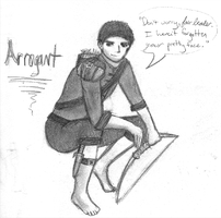 Arrogant by myaen