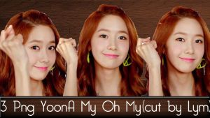 3 PNG YoonA My Oh My cut by Lym by lymchoiding99er