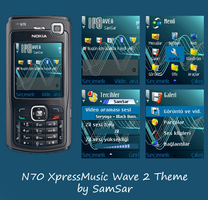 N70 XpressMusic Wave 2 Theme by smsr