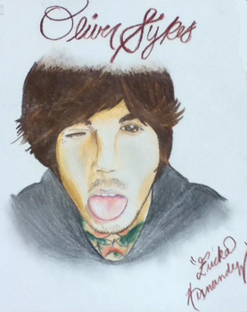Oliver Sykes by EXKITTY