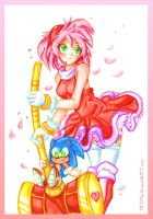 Amy Rose by 13VOin