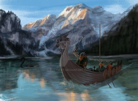 Viking kid's book concept by BusyBert
