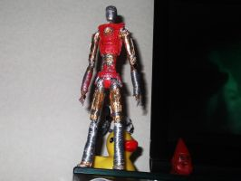 UNFINISHED IRON MAN in wire II by TheWallProducciones