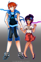 quina height difference by Naysae