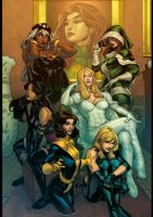 X Girls by Terry Dodson by artmunki