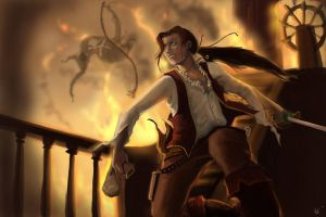 League of Legends: Adam, the Dandy Highwayman by FarahBoom