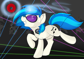 Vinyl Scratch by Lustrous-Dreams