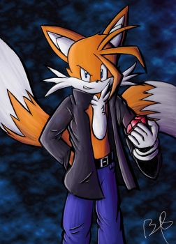 Miles Prower (Tails) TFTL Style by b1uewhirlwind