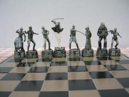 set of chess Star Wars2 by charlieest