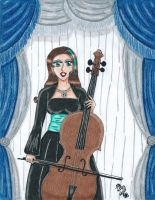 The Cellist by Lily-de-Wakabayashi