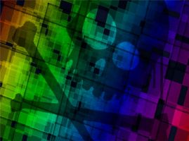 rainbow desktop wall paper by ninjapet
